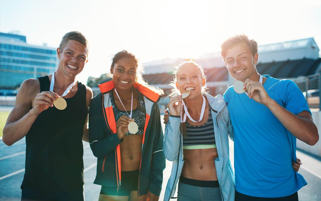 Be the gold medalist in your business