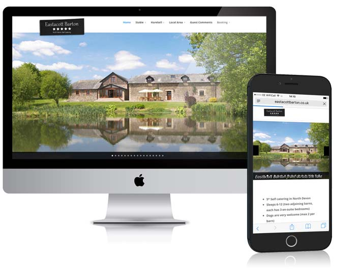 Eastacott Barton Web Design
