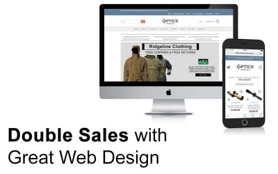 Double Sales With Great Web Design